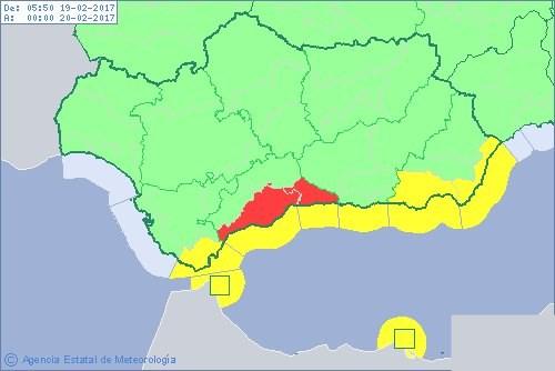Map Of Spain Showing Malaga.Malaga February 20 2017 Sample Content Efas