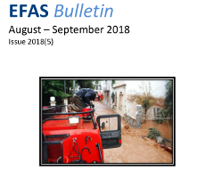 EFAS Bulletin August – September 2018