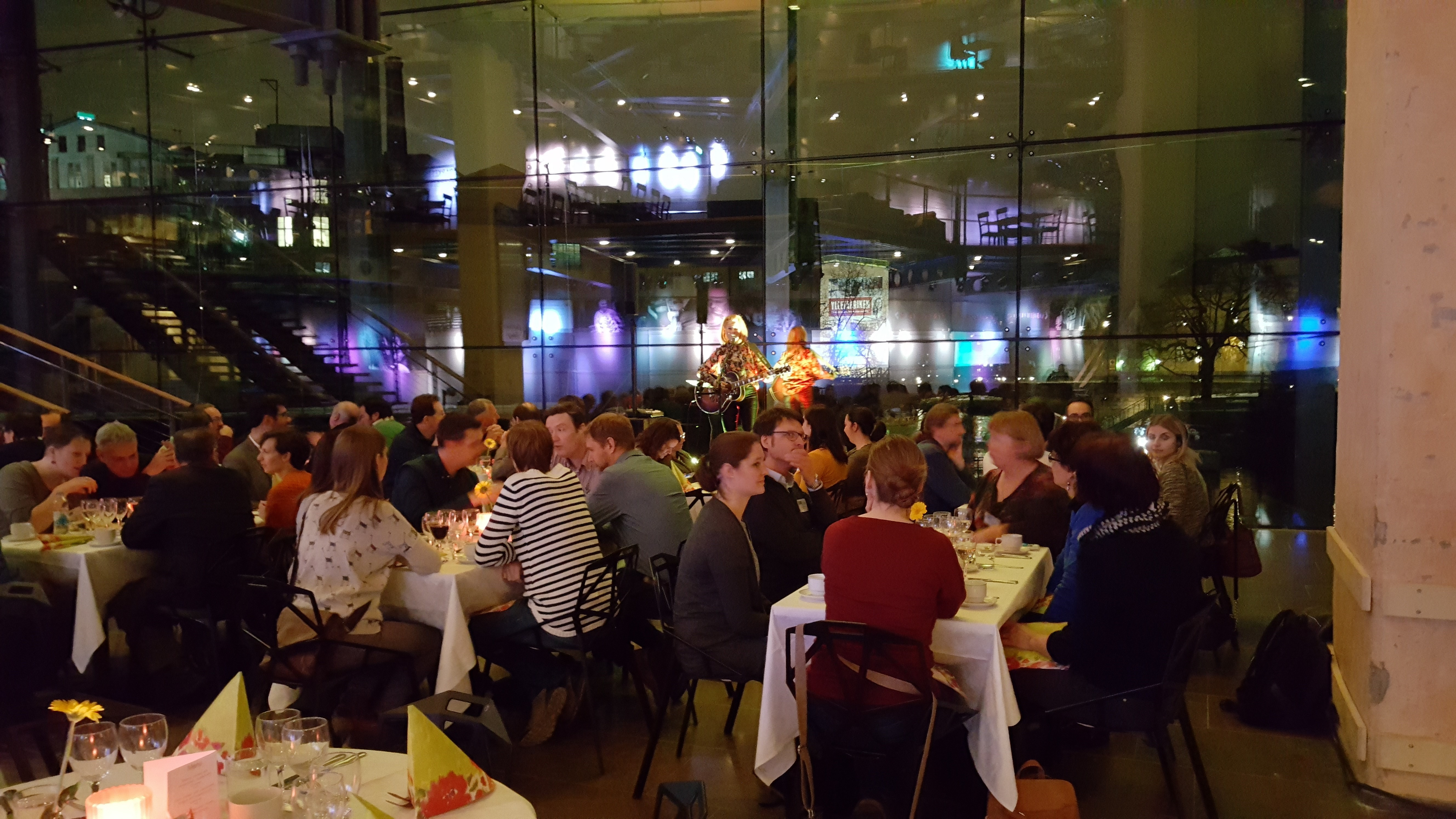 EFAS dinner at the Louise De Geer conference centre