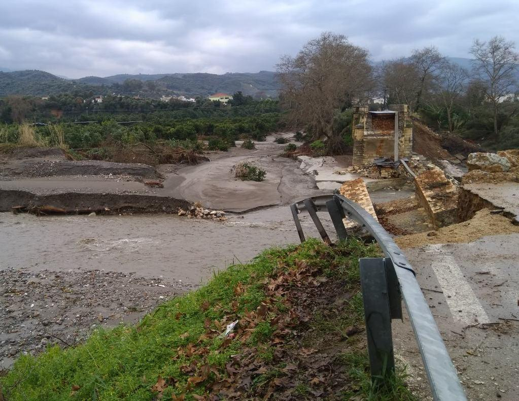 Report On The Flooding In Crete Greece In February 2019 Efas