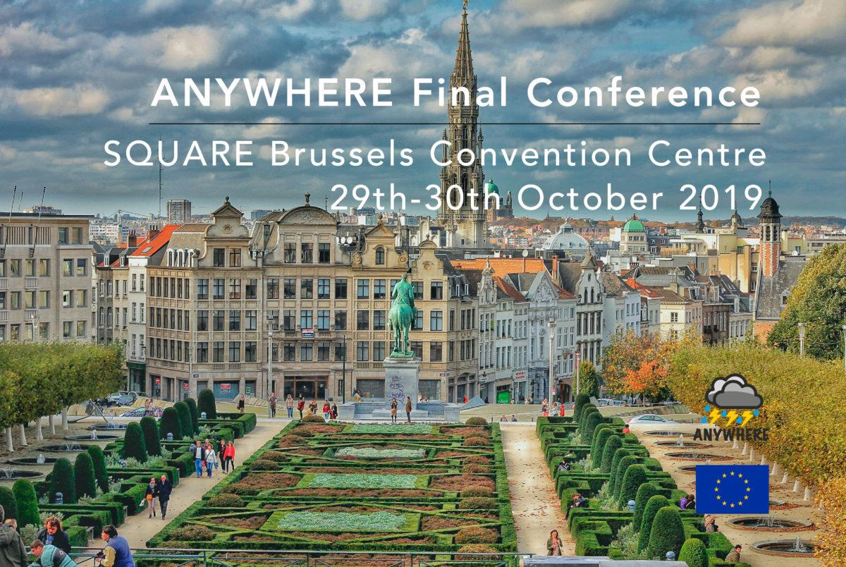 ANYWHERE Final Conference in Brussels 29-30 Oct 2019