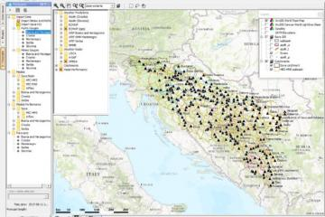 Flood Forecasting and Warning System in the Sava River Basin