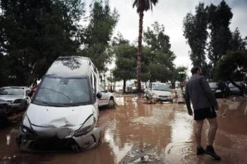 Floods in the Attica Region
