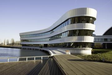 Tetra building in Delft,The Netherlands)
