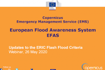 Updates to the ERIC Flash Flood Criteria